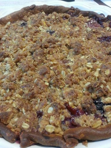 Chilton County Peaches with Blueberries Pah