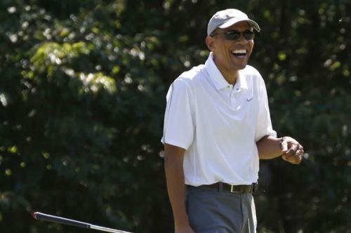 ObamaYukking
